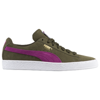 2048c840c2 PUMA Suede Classic - Women's - Olive Green / Purple