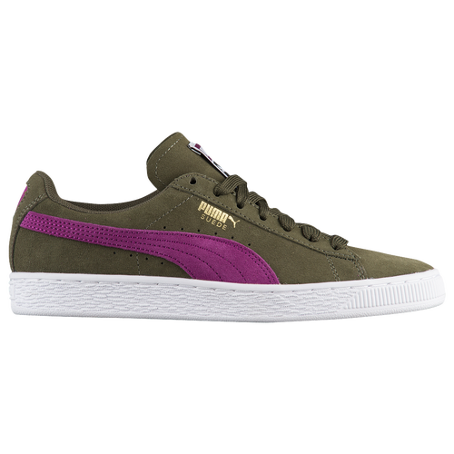 PUMA Suede Classic - Women s - Basketball - Shoes - Olive Night Dark ... 03e74b67d