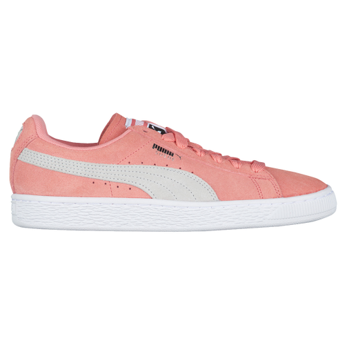 PUMA Suede Classic - Women's Casual - Shell Pink/Glacier Gray 35546269