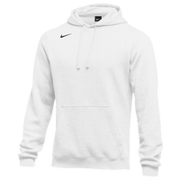 Nike Team Club Fleece Hoodie - Men's - All White / White