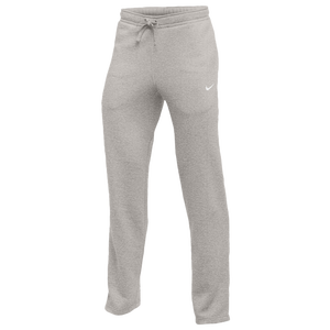 Nike Team Club Fleece Pants - Men's - Grey Heather/White