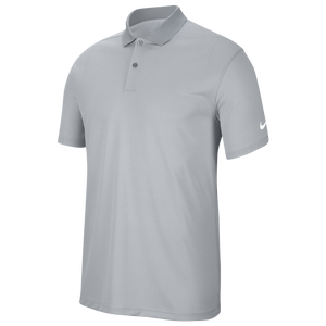 Nike Dry Victory Solid Golf Polo - Men's - Sky Grey/White