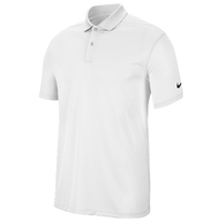 Nike Dry Victory Solid Golf Polo - Men's - White