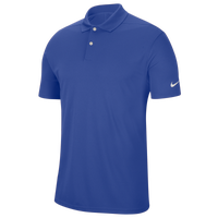 Nike Dry Victory Solid Golf Polo - Men's - Blue