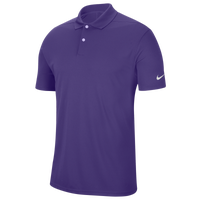Nike Dry Victory Solid Golf Polo - Men's - Purple