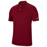 Nike Dry Victory Solid Golf Polo - Men's - Maroon