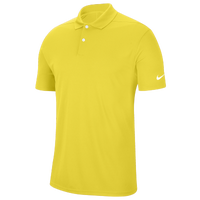 Nike Dry Victory Solid Golf Polo - Men's - Yellow