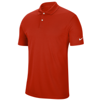 Nike Dry Victory Solid Golf Polo - Men's - Red