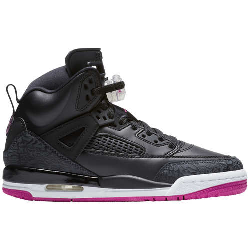 b7e1588e4256e2 Jordan Spizike - Girls  Grade School - Basketball - Shoes - Black Deadly  Pink Anthracite