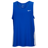 Nike Team Dry Miler Tank - Men's - Blue / White