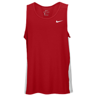 Nike Team Dry Miler Tank - Men's - Red / White
