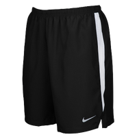 "Nike Team Dry Challenger 7"" Shorts - Men's - Black / White"