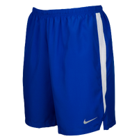 "Nike Team Dry Challenger 7"" Shorts - Men's - Blue / White"