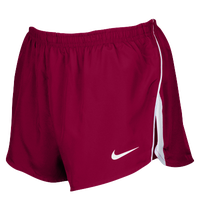 "Nike Team Dry Challenger 2"" Shorts - Men's - Maroon / White"