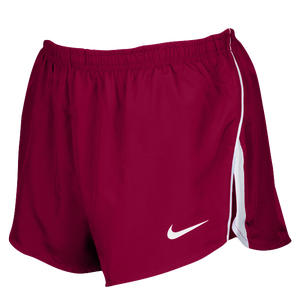 "Nike Team Dry Challenger 2"" Shorts - Men's - Dark Maroon/White"