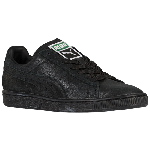 a9aea8e826a4 PUMA Suede Classic - Women s - Casual - Shoes - Black Steel Grey