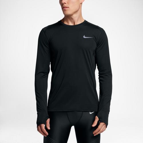 82fffa6d95e13 Nike Dri-FIT Miler Long Sleeve T-Shirt - Men s - Running - Clothing ...