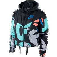 cf973bdc55c0 Nike Logo Mash Jacket - Women s - Black   Multicolor
