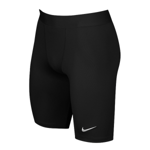 Nike Team Power Stock Race Day Tight Half - Men's - Black/White