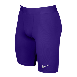 Nike Team Power Stock Race Day Tight Half - Men's - Purple/White