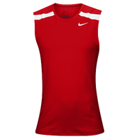Nike Team Power Stock Race Day Tank - Men's - Red / White