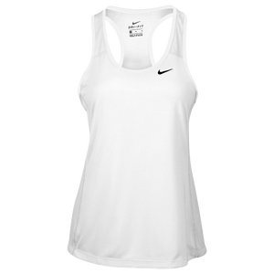 Nike Team Dry Tank - Women's - White/Black