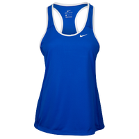 Nike Team Dry Tank - Women's - Blue / White