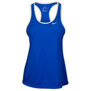 Nike Team Dry Tank - Women's - Royal/White