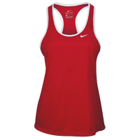 Nike Team Dry Tank - Women's - Red / White