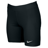 Nike Team Power Stock Race Day Tight Half - Women's - All Black / Black