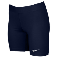 Nike Team Power Stock Race Day Tight Half - Women's - Navy / Navy