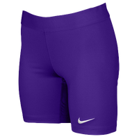 Nike Team Power Stock Race Day Tight Half - Women's - Purple / Purple