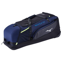 Mizuno Samurai Catcher's Wheel Bag - Navy / Black