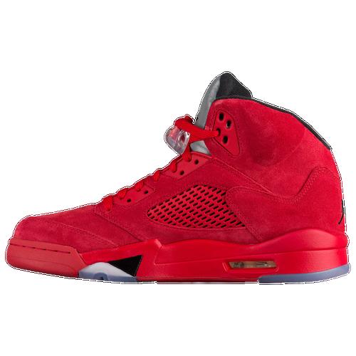 air jordan 5 red suede foot locker