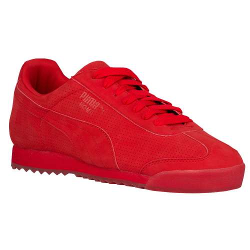 3c16d1edaa5 PUMA Roma Basic - Men s - Casual - Shoes - High Risk Red White