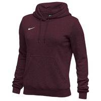 Nike Team Club Fleece Hoodie - Women's - Maroon / Maroon