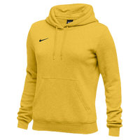 Nike Team Club Fleece Hoodie - Women's - Gold / Gold