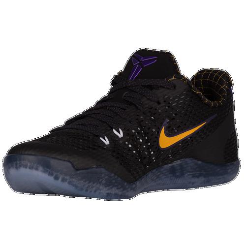 Nike Kobe 11 Low - Men's - Basketball - Shoes - Bryant, Kobe -  Black/White/Court Purple/University Gold