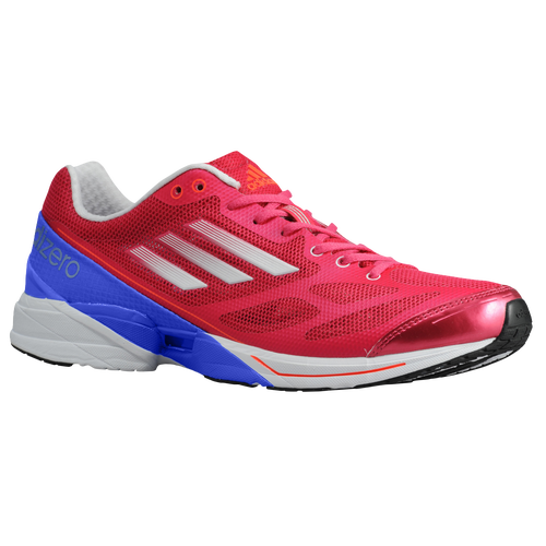 adidas adiZero Feather 2 - Women's Running Shoes - Bright Pink/White/Lab Blue 361969