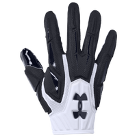 Under Armour Highlight NFL Receiver Glove - Men's - White / Black