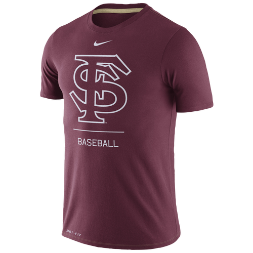 d6de3f8b4a Nike College DFCT Dugout Baseball T-Shirt - Men s - Clothing - Florida  State Seminoles - Maroon