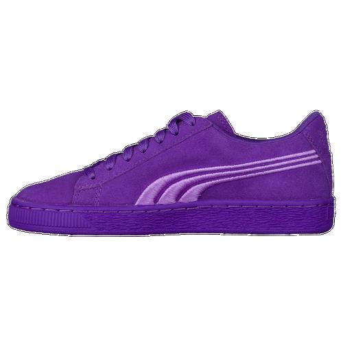 PUMA Suede Classic - Boys' Grade School - Casual - Shoes - Electric Purple