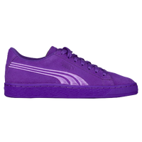 Kids Puma Suede Classic Badge Preschool  Purple