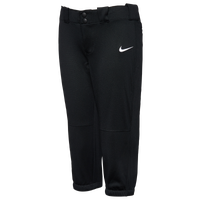 Nike Team Diamond Invader 3/4 Pants - Girls' Grade School - Black