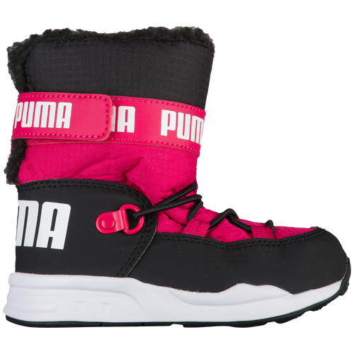 35faaa8ff5b885 ... sale puma trinomic boots girls toddler puma casual love potion black  5468f 26598