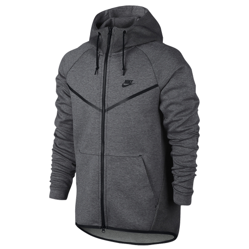 645230ecf5e1 Nike Tech Fleece AOP Windrunner - Men s - Casual - Clothing - Carbon Heather