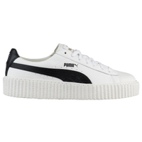 0b54f7033640e7 PUMA Fenty Creeper - Women s - White   Black