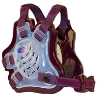 Cliff Keen F5 Tornado Headgear - Men's - Clear / Maroon