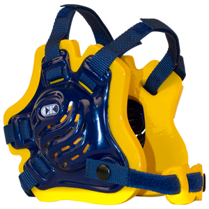 Cliff Keen F5 Tornado Headgear - Men's - Navy/Gold/Navy
