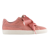 ef78b2f177c PUMA Suede Heart Quilted - Women s - Pink   Off-White
